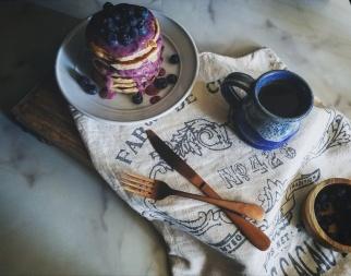 blueberry pancake sunday
