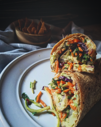 chipotle avacado wrap