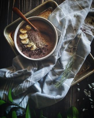blackberry smoothie bowl