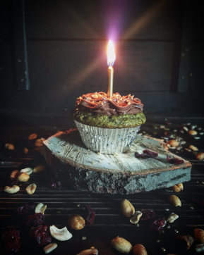 matcha cupcake