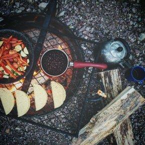 Campfire Tacos