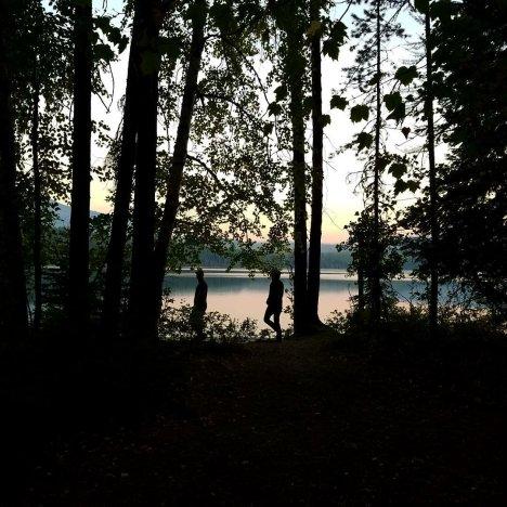 Morning trek