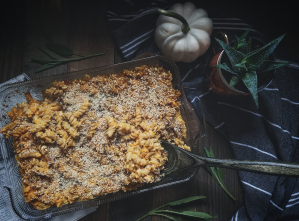 Butternut squash mac n' cheese