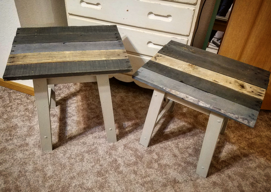Finished End Tables
