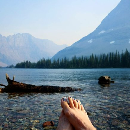 Dipping my toes into Hidden Lake